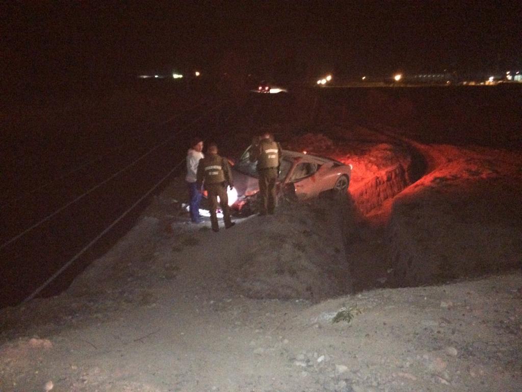 Confirmado accidente de @kingarturo23 lesiones leves se espera parte medico e informe oficial. http://t.co/yL5I73w8vN