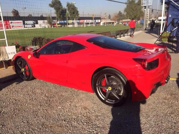 Photo of Arturo Vidal Lamborghini Gallardo LP560-4 - car