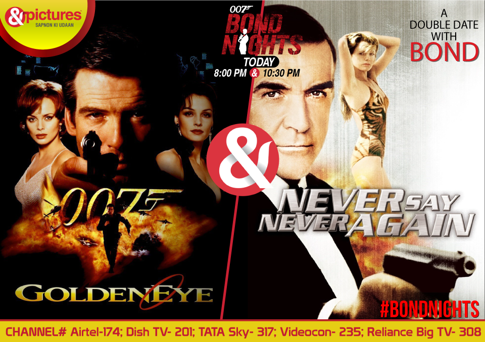 Get ready for a Double Date with Bond in #BONDNIGHTS only on @AndPicturesINpic.twitter.com/3oOPfqDxft