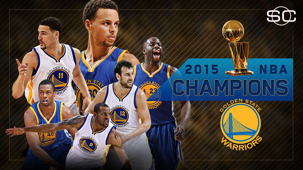 WARRIORS WIN NBA FINALS! Golden State claims 4th title in franchise history with 105-97 win over Cleveland in Game 6.