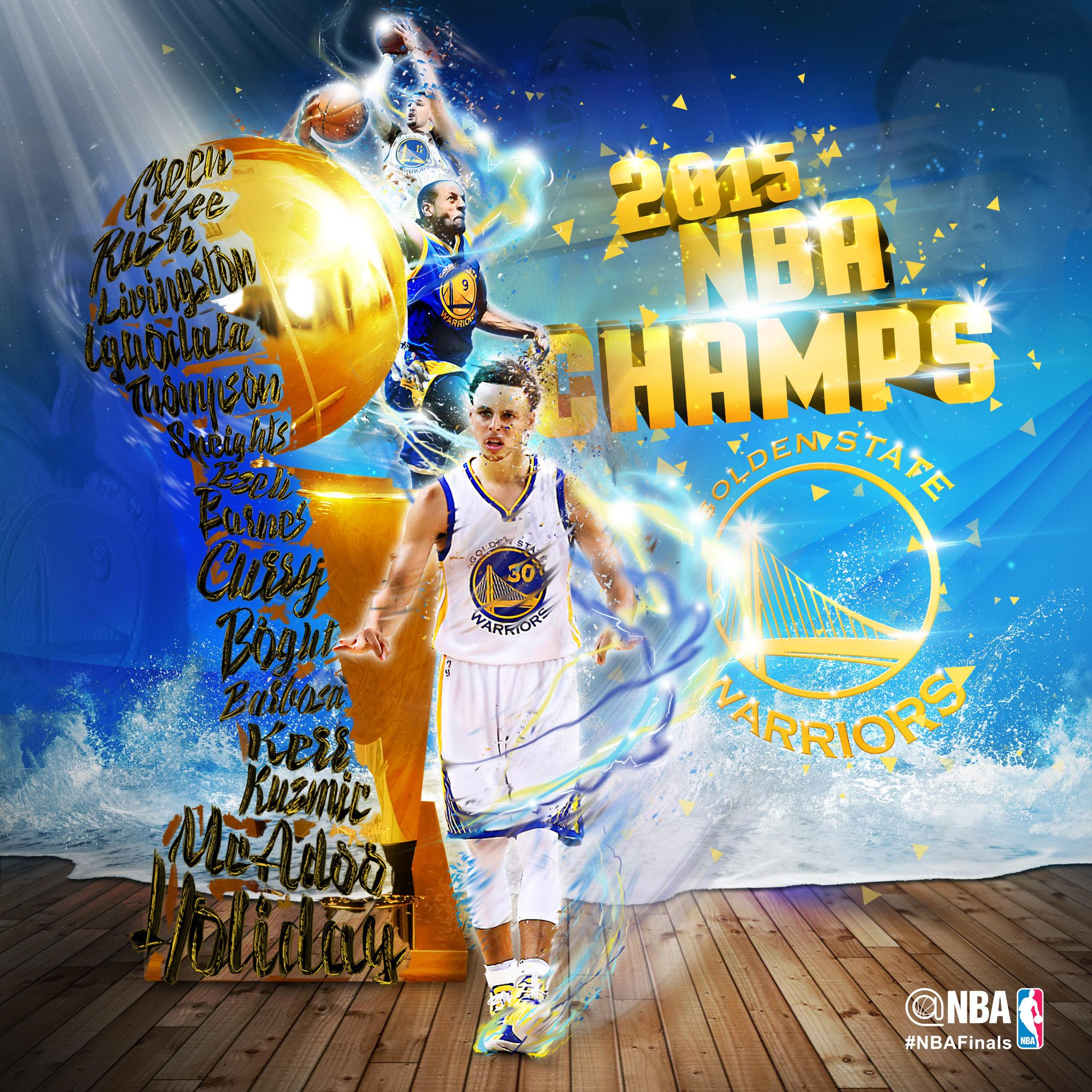 "NBA On Twitter: ""The Golden State @Warriors Are The 2015"