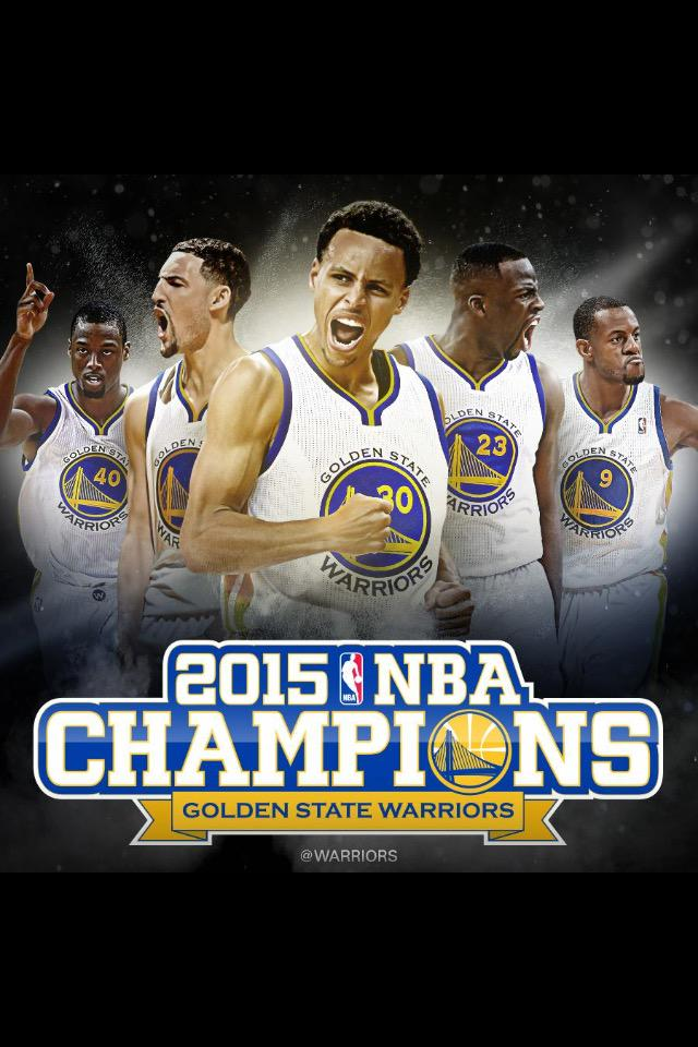 We kinda always knew the Warriors would win. #DubNation #2015NBAChampion http://t.co/FkaxR4q3fS