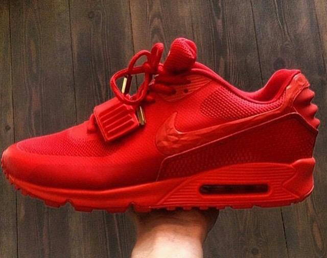 Nike Air Max 90 Yeezy Red October