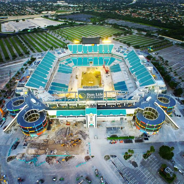 Miami Dolphins Co-Owned Stadium