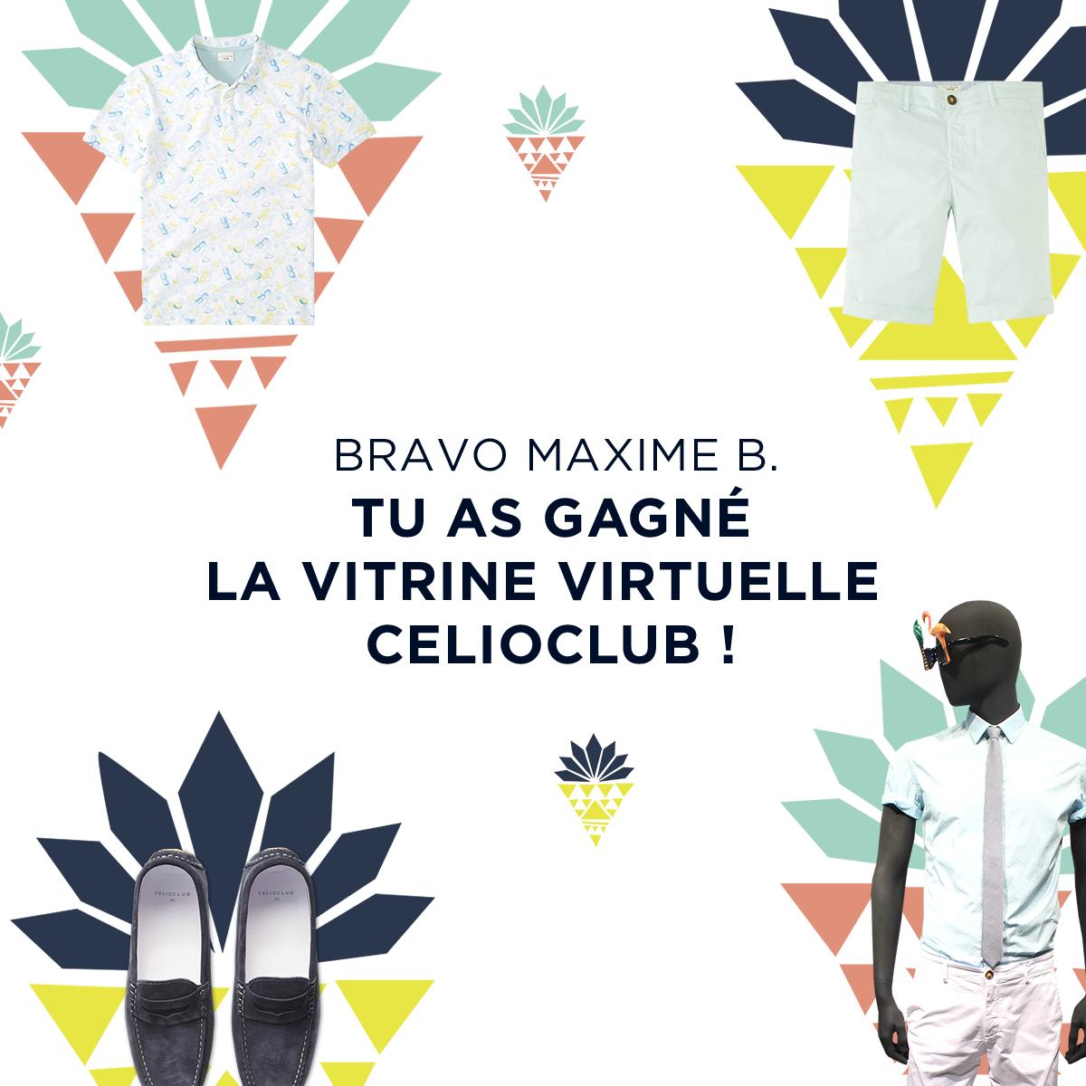 """Le #jeu #FêteDesPères continue en magasin: chuchote """"Je suis ton père""""à ton vendeur CELIOCLUB pour gagner la vitrine! http://t.co/EAmGuwK60q"""