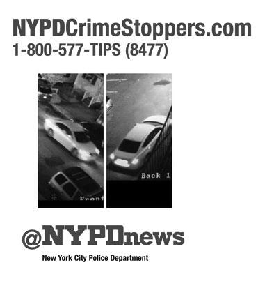 WANTED: Help us ID this vehicle & occupants for an assault on a police officers #StatenIsland  http://t.co/tqClplTs35