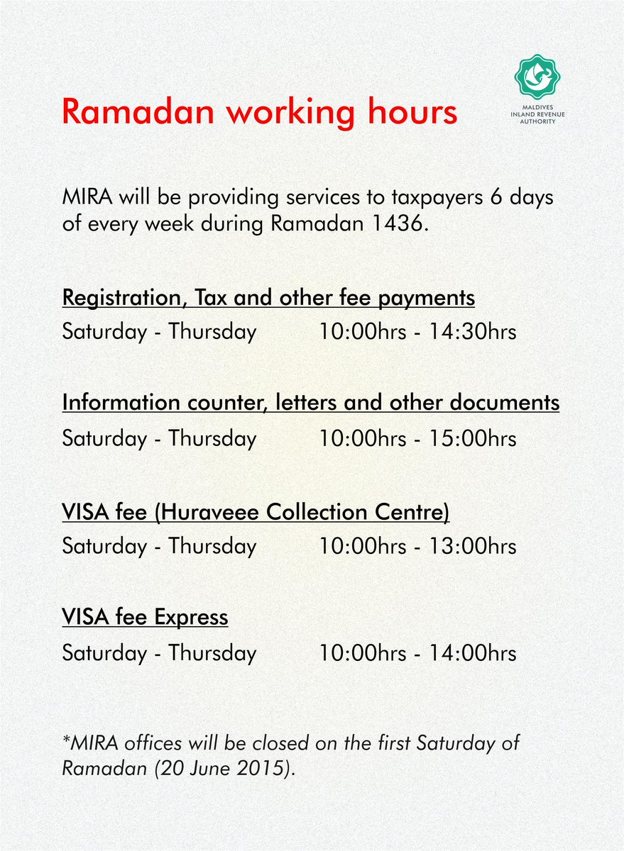 mira on twitter ramadan working hours http t co vksjjurzwl