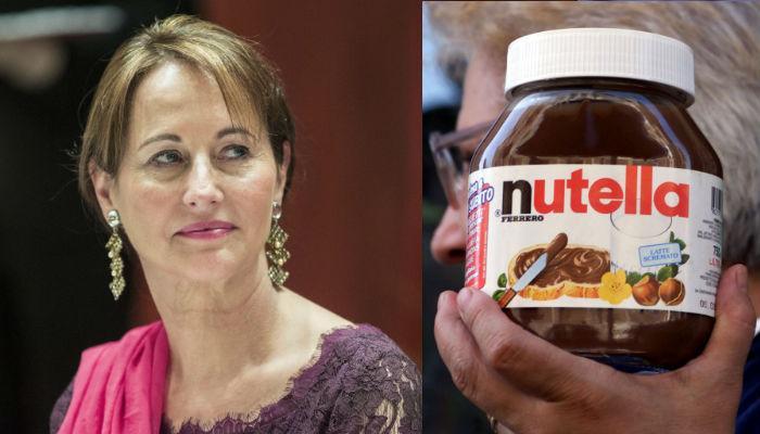 """Caso Nutella: le """"mille scuse"""" del ministro francese dell'Ecologia Segolene Royal"""