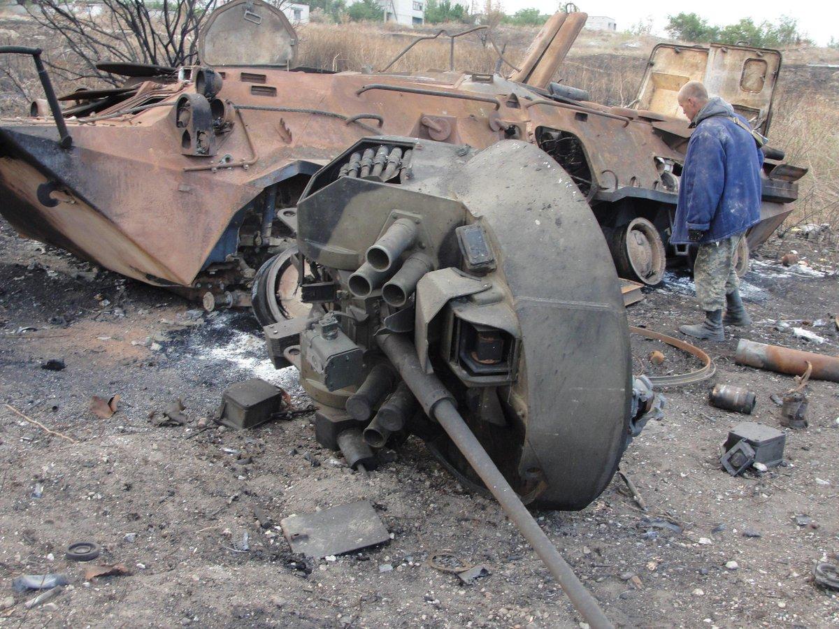 Боевики начали очередную атаку на Марьинку, - Шкиряк - Цензор.НЕТ 9529