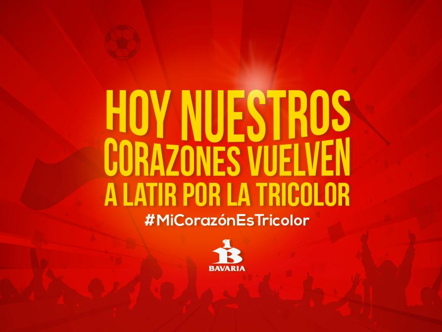 Nos preparamos para vivir un nuevo encuentro con la tricolor ¡#MiCorazónEsTricolor! http://t.co/TxRenSSMv3
