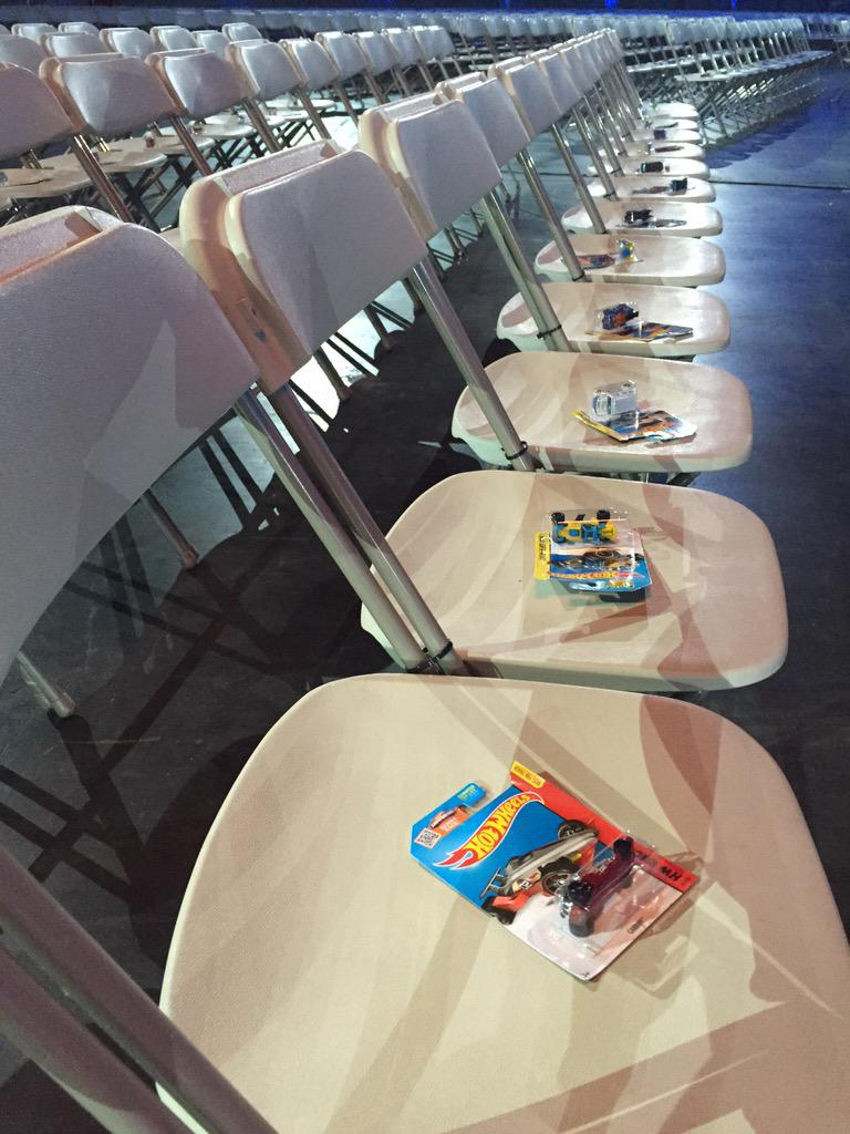 What kind of hot-wheel did you get at #CNX15?!   img @smccorkle #Salesforce @Mattel
