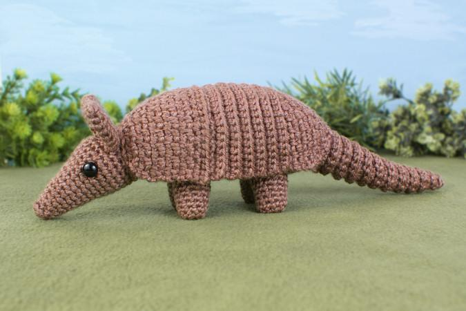 New pattern day! Crochet an Armadillo complete with wonderfully textured armour plating :) http://t.co/ulTTREy5GQ http://t.co/Q3d7fm4PbV