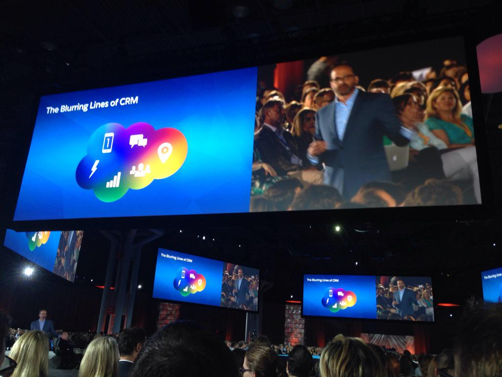 salesforce ceo discusses CRM today #salesforce #CNX15