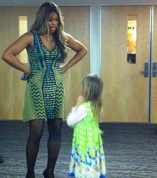 Laverne Cox Told This Transgender Girl To Remember Trans