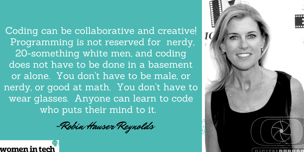 New feature @Rubie226 Director of @CODEFilm on challenging the image of a 'coder'. #WomeninTech #Code http://t.co/Xgqkh2DWZL