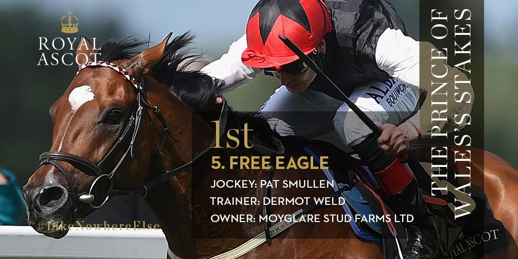 Free Eagle – Prince of Wales's Stakes 2015