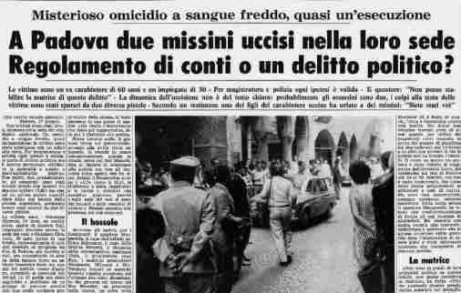 Risultati immagini per Graziano Giralucci e Giuseppe Mazzola