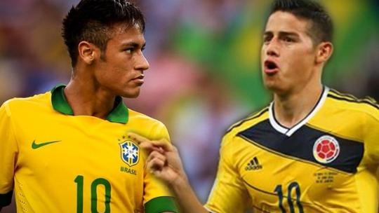 BRASILE-COLOMBIA Rojadirecta streaming calcio diretta tv Coppa America 2015 sfida Neymar James Rodriguez