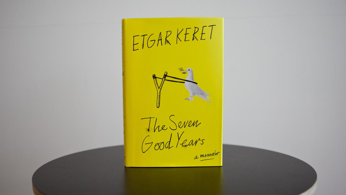 We're giving away 2 copies of Etgar Keret's new memoir: THE 7 GOOD YEARS! Enter to #win: https://t.co/jgGTMyaRmK http://t.co/6OaC27ZQKy