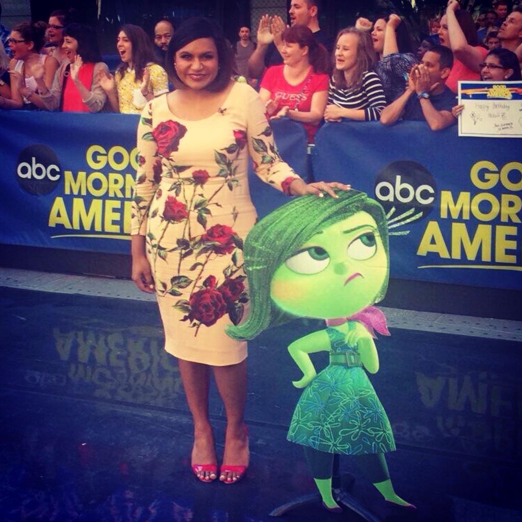 Mindy Kaling Inside Out Premiere