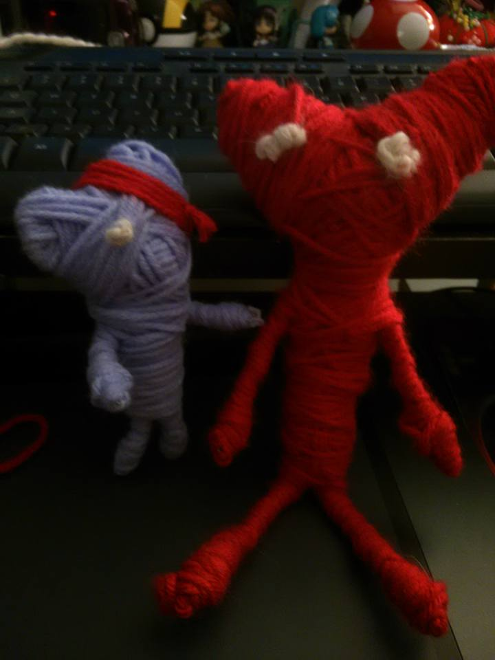 I made #yarny a new friend! @unravel_game http://t.co/uFO4zZd8tf