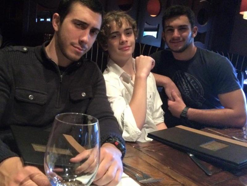 "patrick warburton on Twitter: ""My boys. Talon, Gabriel ..."