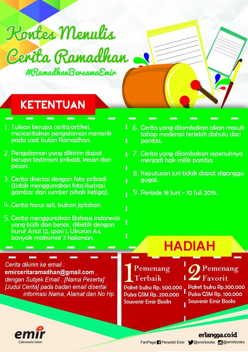 Kontest Menulis Cerita Ramadhan