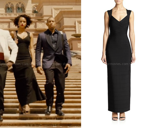 Shopyourmovies On Twitter Furious 7 Ramsey S Black Gown Http T Co Gfdndhcqfd Http T Co T3eemre9n0