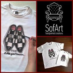 25f6458eae4a Κάντε RT &2 τυχεροί κερδίζουν από 1 σετ μπλουζάκια ζωγραφισμένα στο χέρι  της εταιρίας SofArt drawing up your life!pic.twitter.com/7nx7ZBmu5O