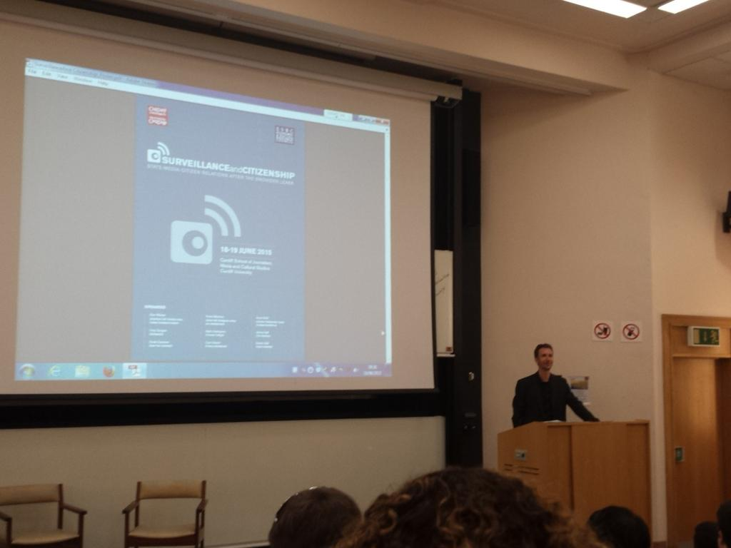 2 years after Snowden revelations implications just start evolving, says @arne_hz. #Surveillance15 http://t.co/0bZzqGpV15