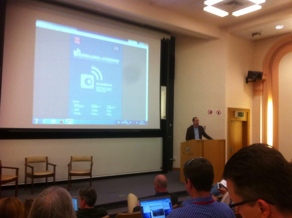 First session at #surveillance15 is from @benwizner, Edward #Snowden's lawyer http://t.co/CVizc8GcvL