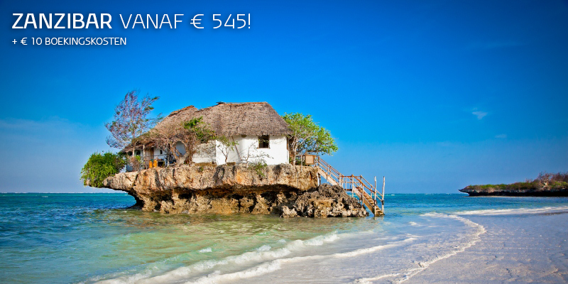 Zanzibar met KLM