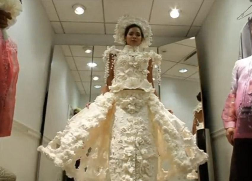 Citizen Tv Kenya On Twitter Designers Create Wedding Dresses Out