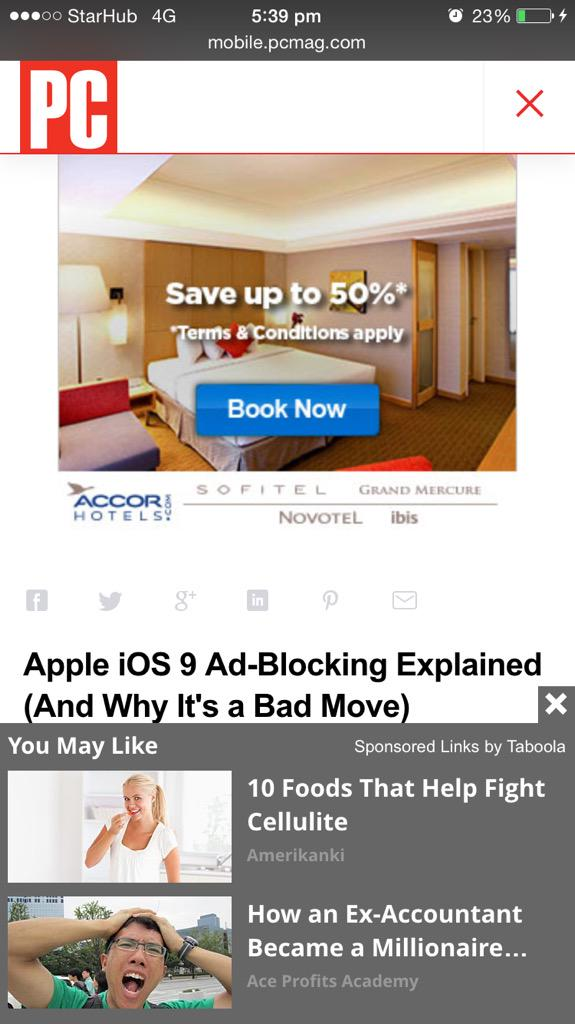 Apple's new Safari will let you block ads, which makes some people happy and some people very scared