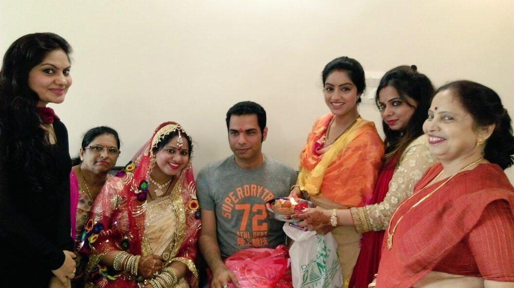 Deepika Singh Goyal On Twitter ParulsisterbabyshowercelebrationfamilylovehappinessGodblessher Tco 3mDOvxsCEa