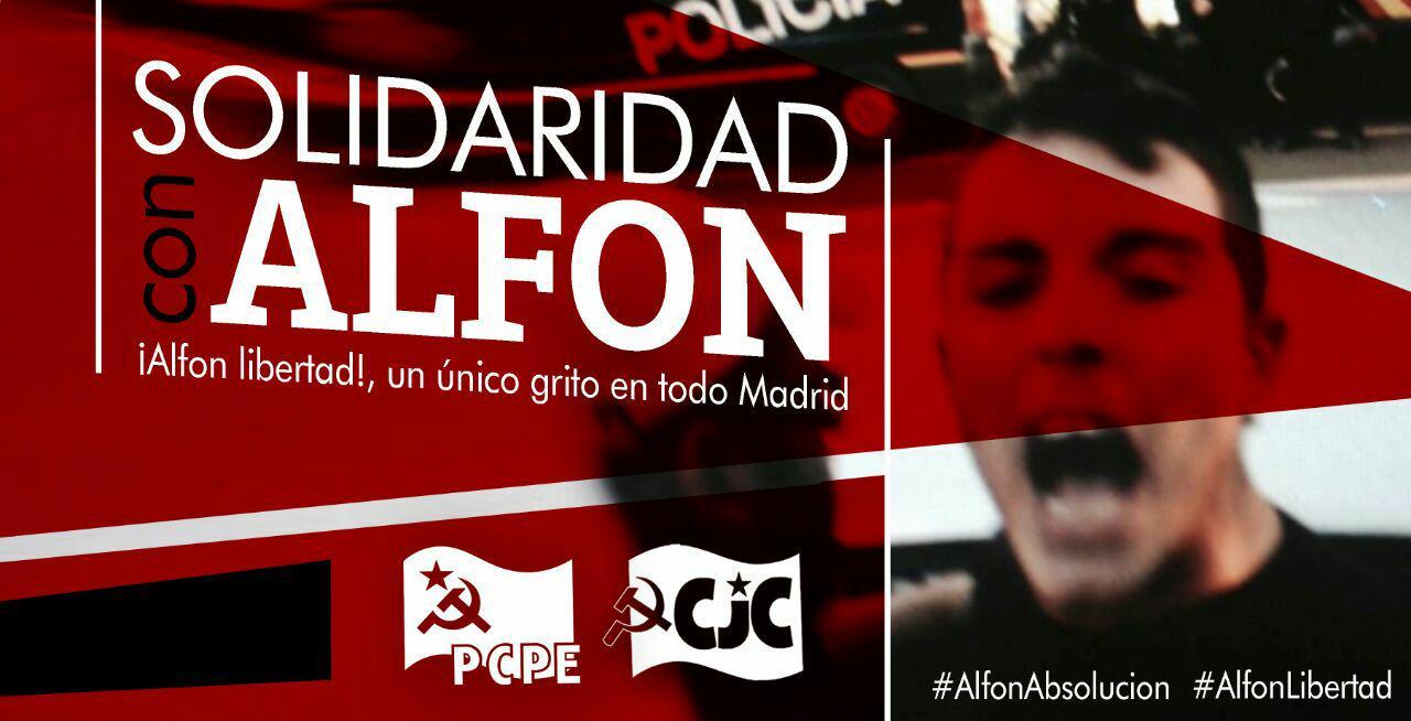 Alfon y Rita Maestre. Dos protestas, dos clases