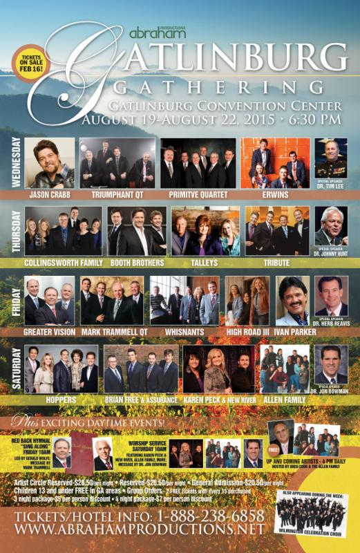 Tix on sale now! @IvanParker @karenpeckgooch @HoppersMusic @boothbrothers @C_Fam1 @JasonCrabbMusic @geraldwolfe1 http://t.co/PwMrWFHxb9