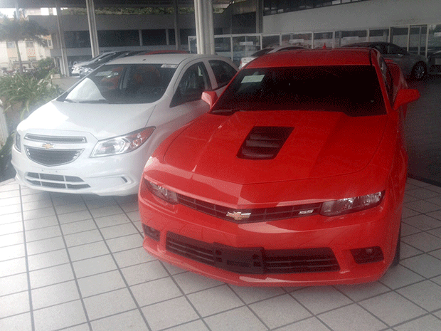 Concessionária oferece Onix a R$ 1 para quem comprar Camaro em Natal http://t.co/LuXNlkqPD6 #G1 http://t.co/6AgmkudqVN