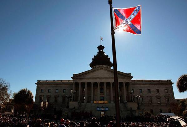 """Governor who flies Confederate flag at SC capitol says """"we'll never understand what motivates"""" #Charleston massacre http://t.co/1ZpiM3BesJ"""