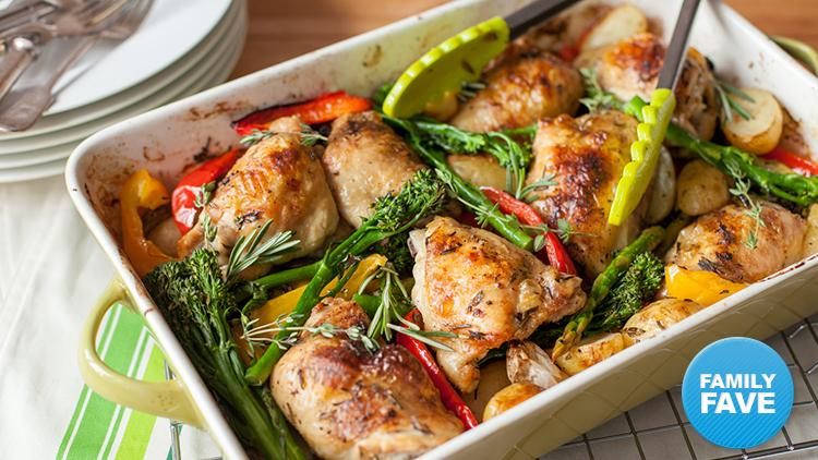 how to bake chicken thighs