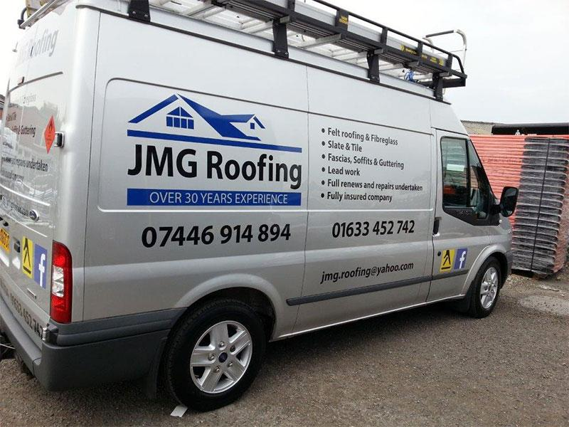 Roofing Van Signwriting Amp Bristol Sign Makers For Signs