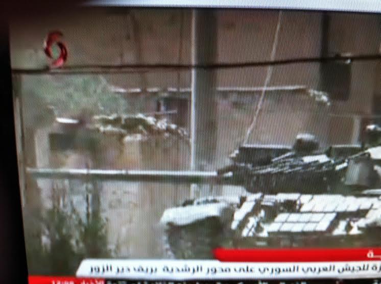 الدبابه T-55 السوريه ودورها في الحرب القائمه هناك  CHzzvggVEAAMlNF