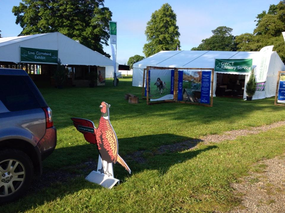 @ScotGameFair is good to go! Hope to see you here over the next 3 days. http://t.co/v4bWAtSSYj