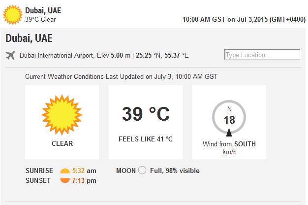upper Dubai Weather forecast cities | Scoopnest