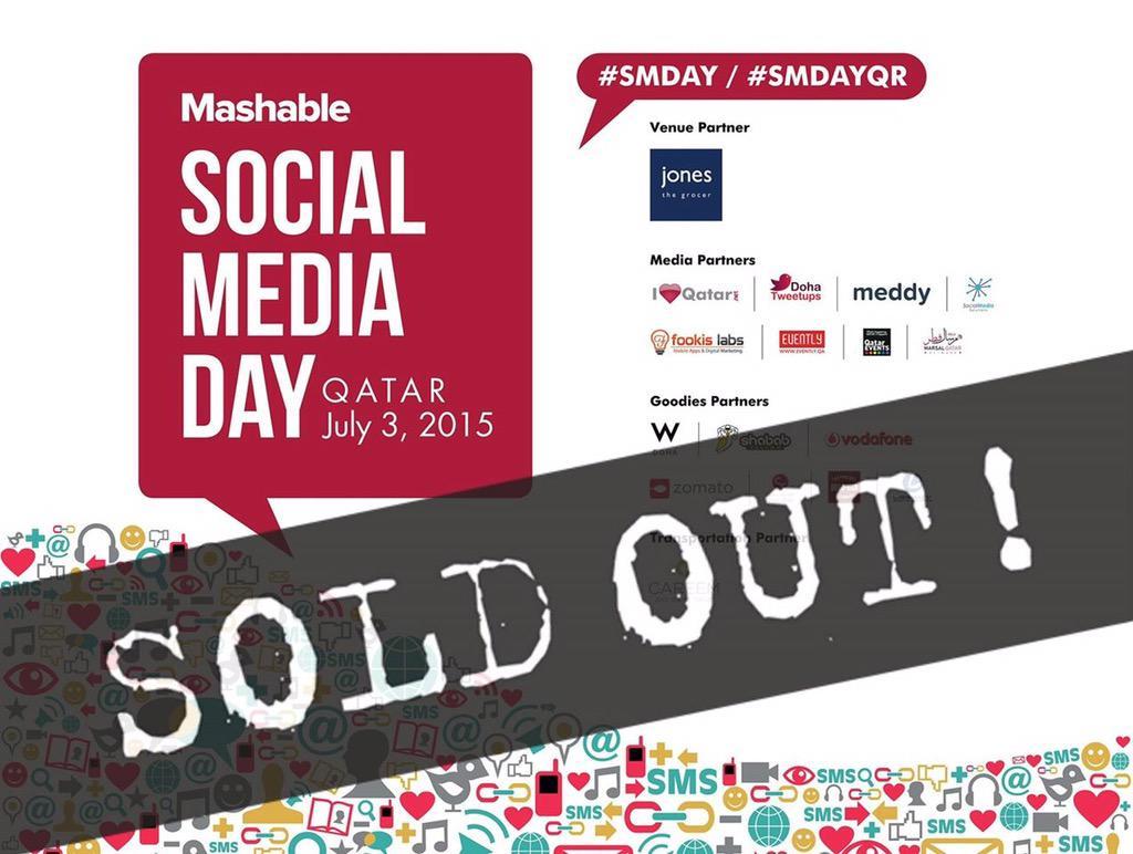 Thumbnail for Mashable Social Media Day 2015 in Qatar