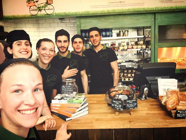 I'll be joining my fantastico team @MyPastaBar @LeadenhallMkt for lunch tomorrow. It's 1 year since we opened! 🎂😃 xx http://t.co/y7Qp9KwOEW