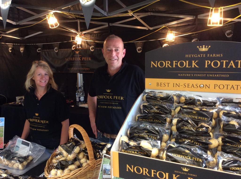 Come and get your finest Norfolk Potatoes from @Heygatefarms http://t.co/cSrHWYwxDy
