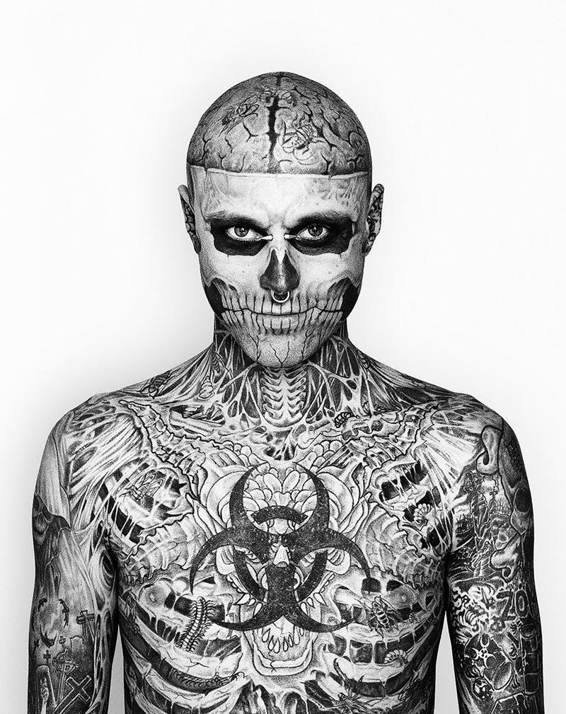 Vertele On Twitter Des Maquillando Al Hombre Más Tatuado Del