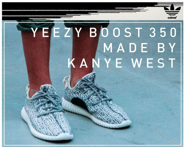 【adidas YEEZY BOOST 350 MADE BY KANYE WEST】抽選販売決定!  https://t.co/ebA9uBpnwI  ※詳細ページをご覧頂く際は、ログインが必要となります。 http://t.co/JyROB2L2mx