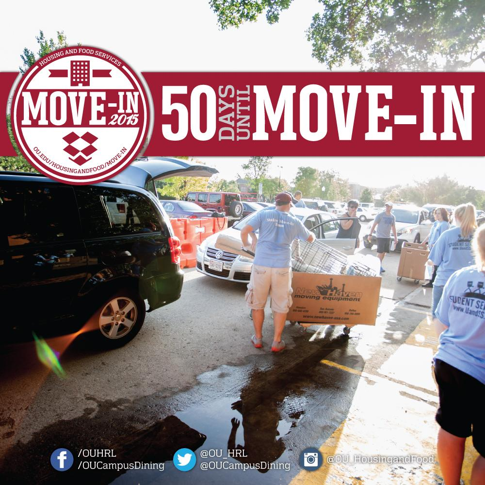 Hey @ouclassof2019, there are only 50 days until #OUMoveIn15! #BoomerSooner #yOUStartHere http://t.co/eLydgyRb8i
